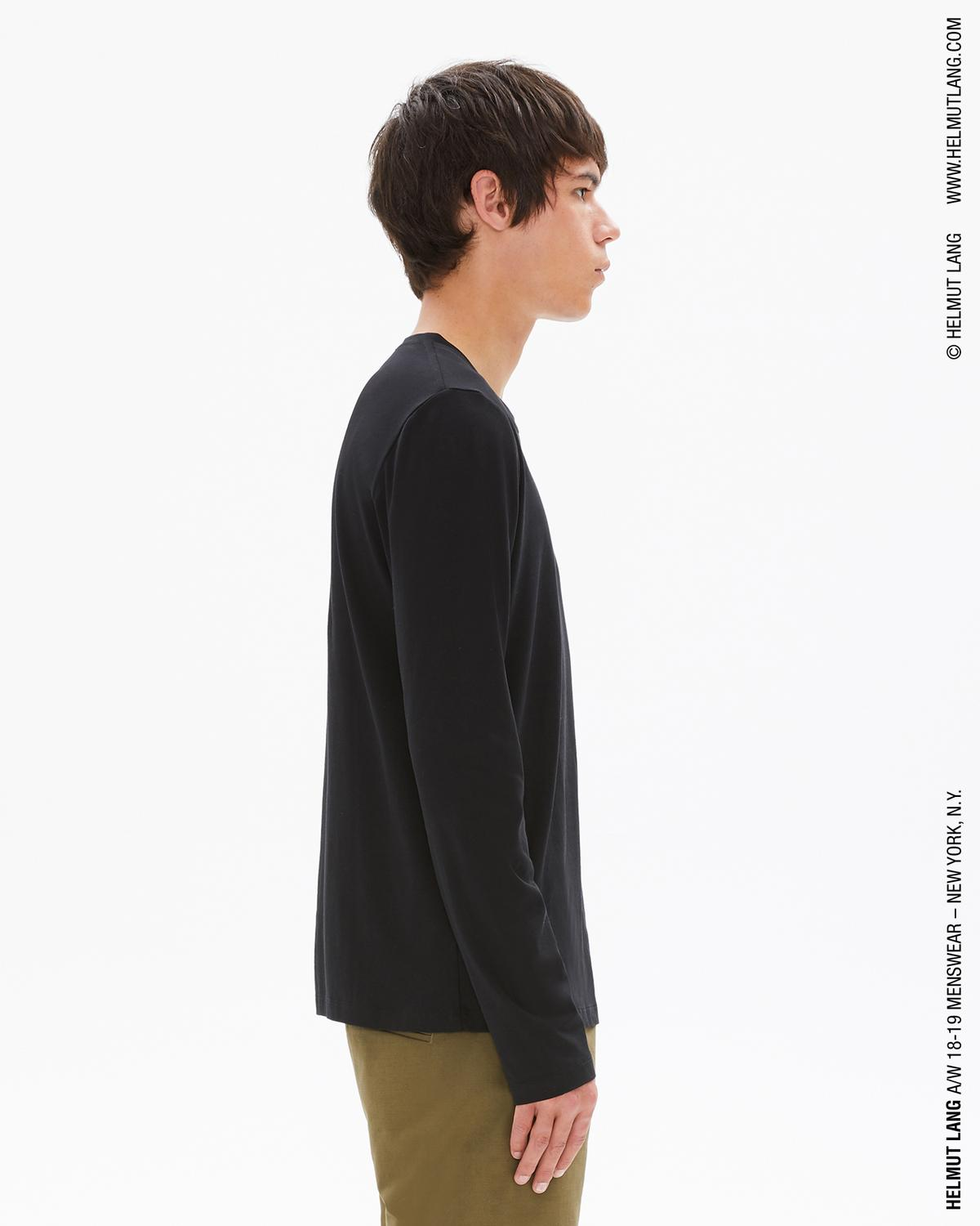 Dart Back Long Sleeve T-Shirt