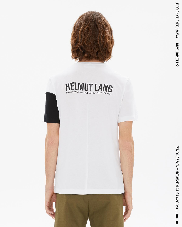 e75aa80c Helmut Lang Band Logo Tshirt | WWW.HELMUTLANG.COM