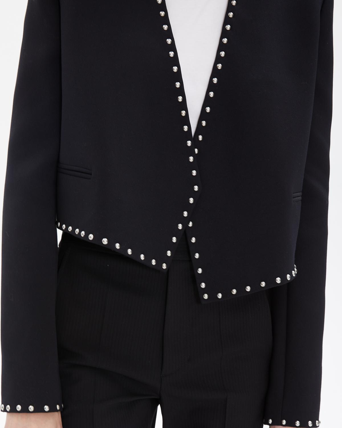 STUDDED SUIT JACKET