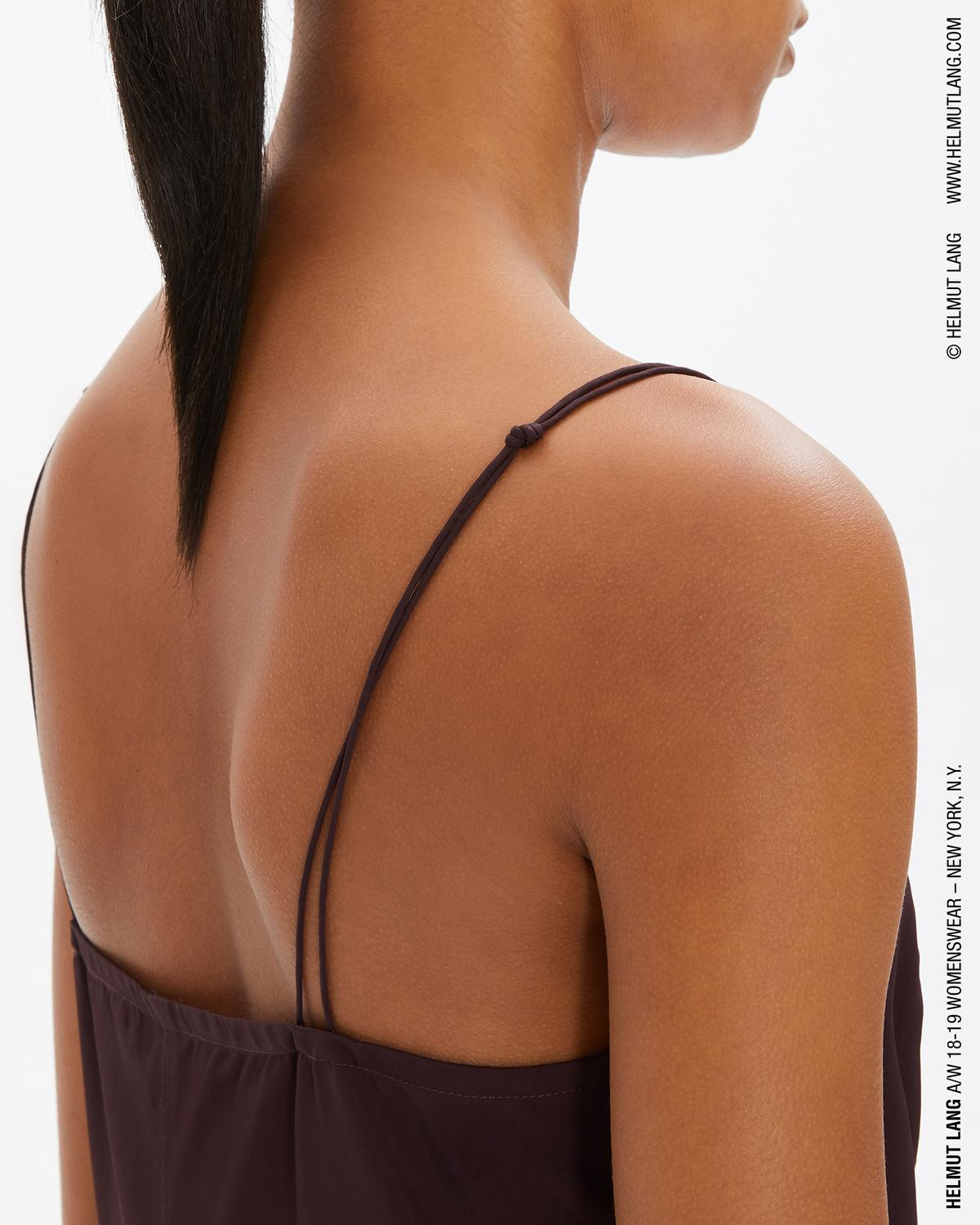 DRAPED SLIP TOP