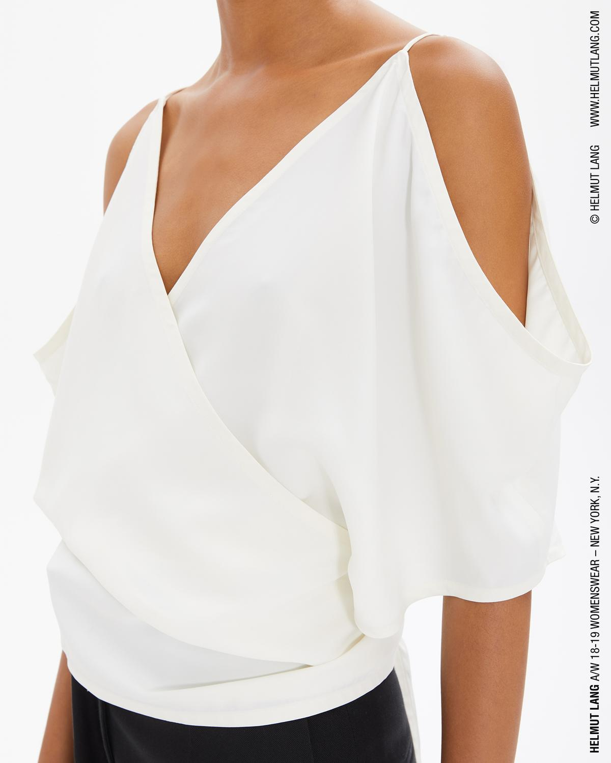 VISCOSE WRAP TOP