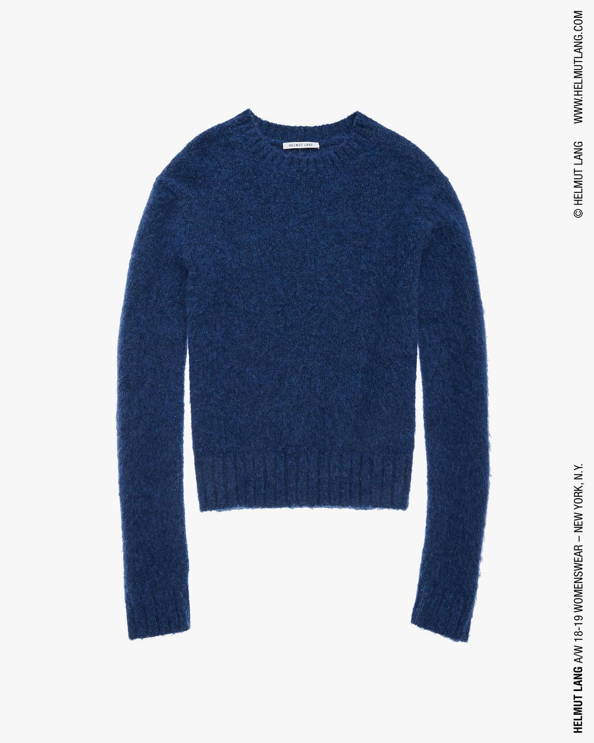 BRUSHED CREWNECK SWEATER