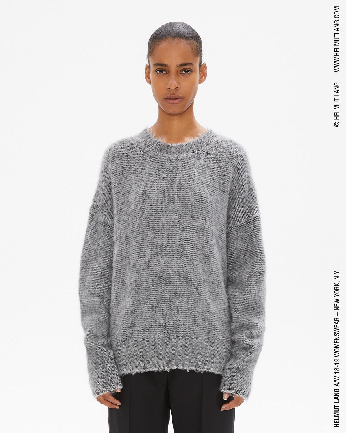 Brushed Wool Crewneck