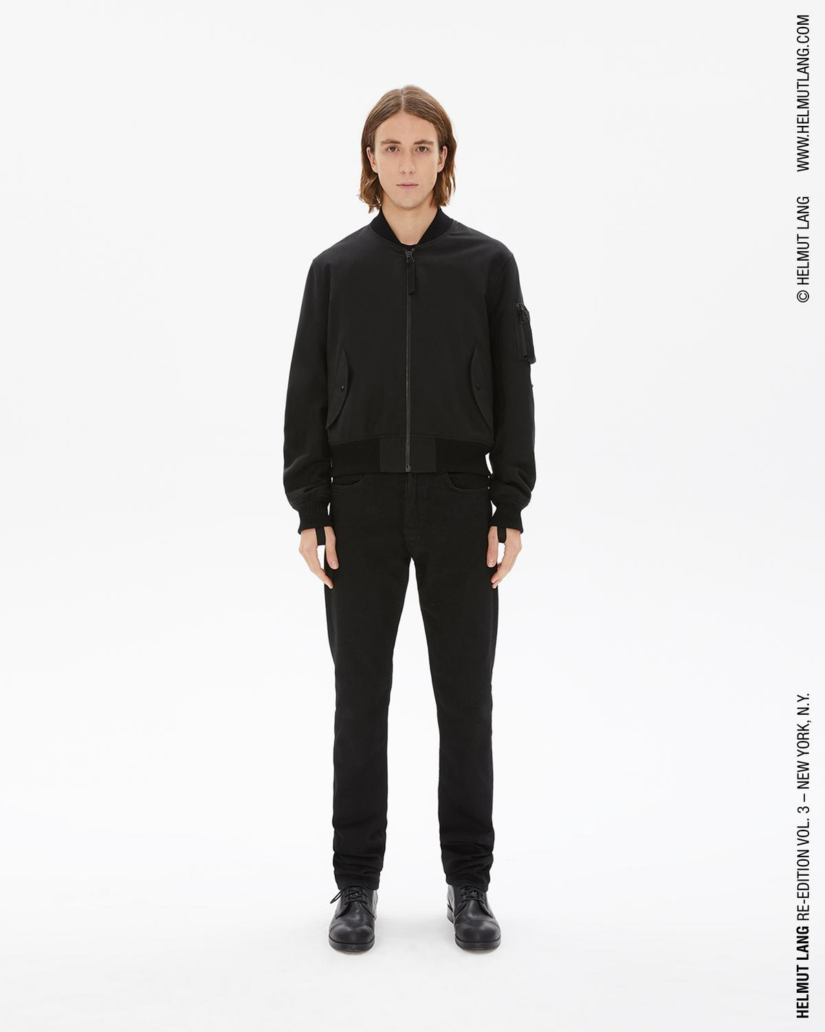 Men'S Bondage Bomber Jacket