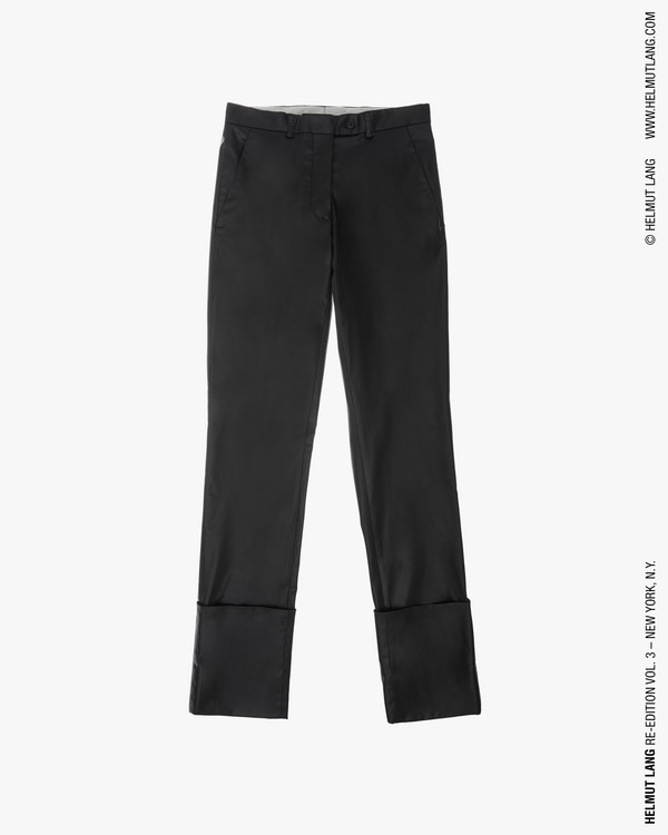 bae08c8ade99 LACQUERED ACETATE EXTREME TURN UP TROUSER