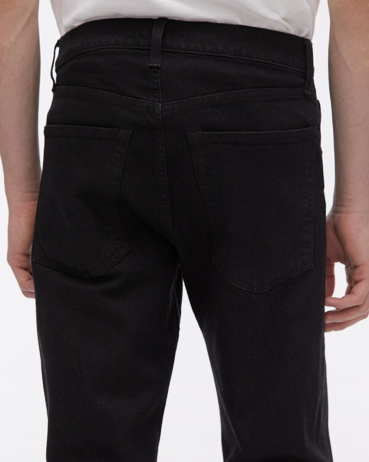 Masc Hi Straight Jeans in Black