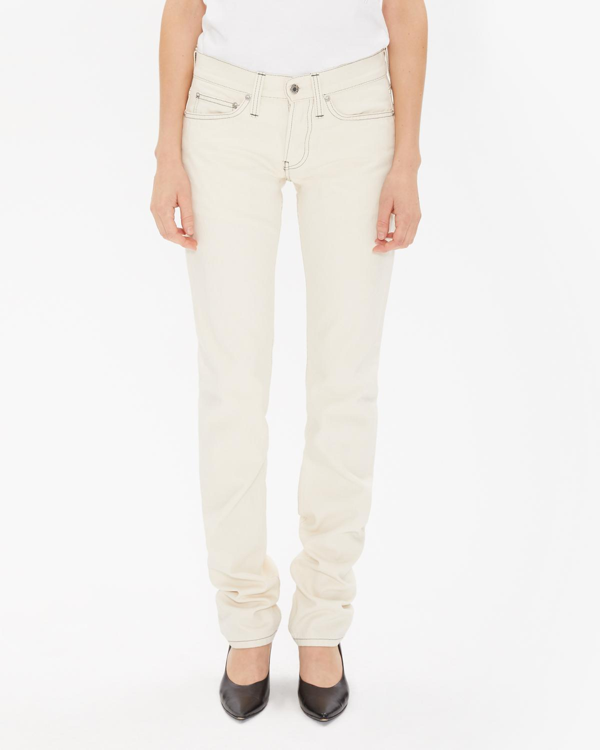 Masc Lo Drainpipe Jeans In Natural