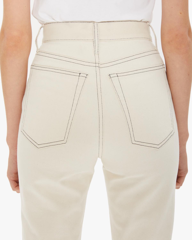 143fef38ac Helmut Lang Femme Hi Bootcut Jeans - Natural | WWW.HELMUTLANG.COM