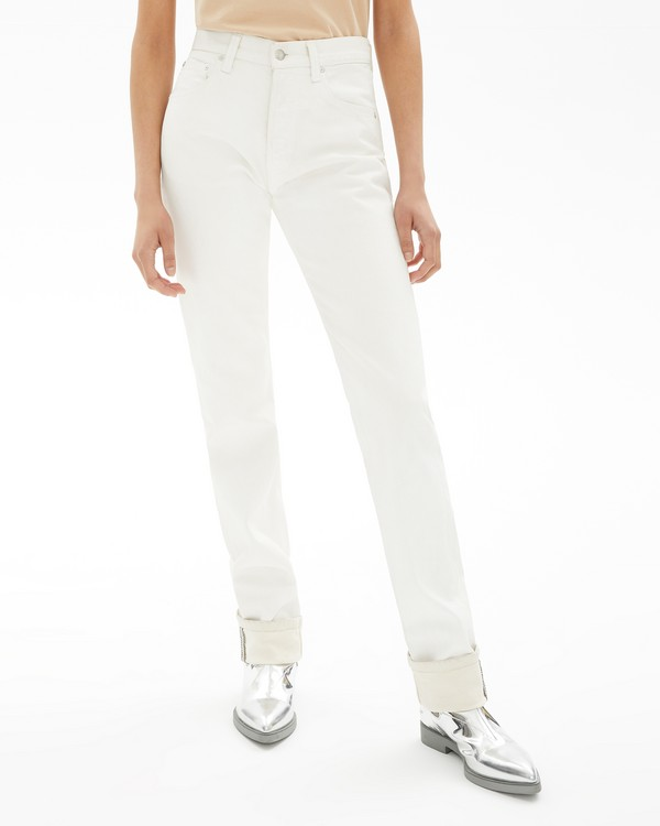 70060ad09 Masc Hi Straight Jeans in White