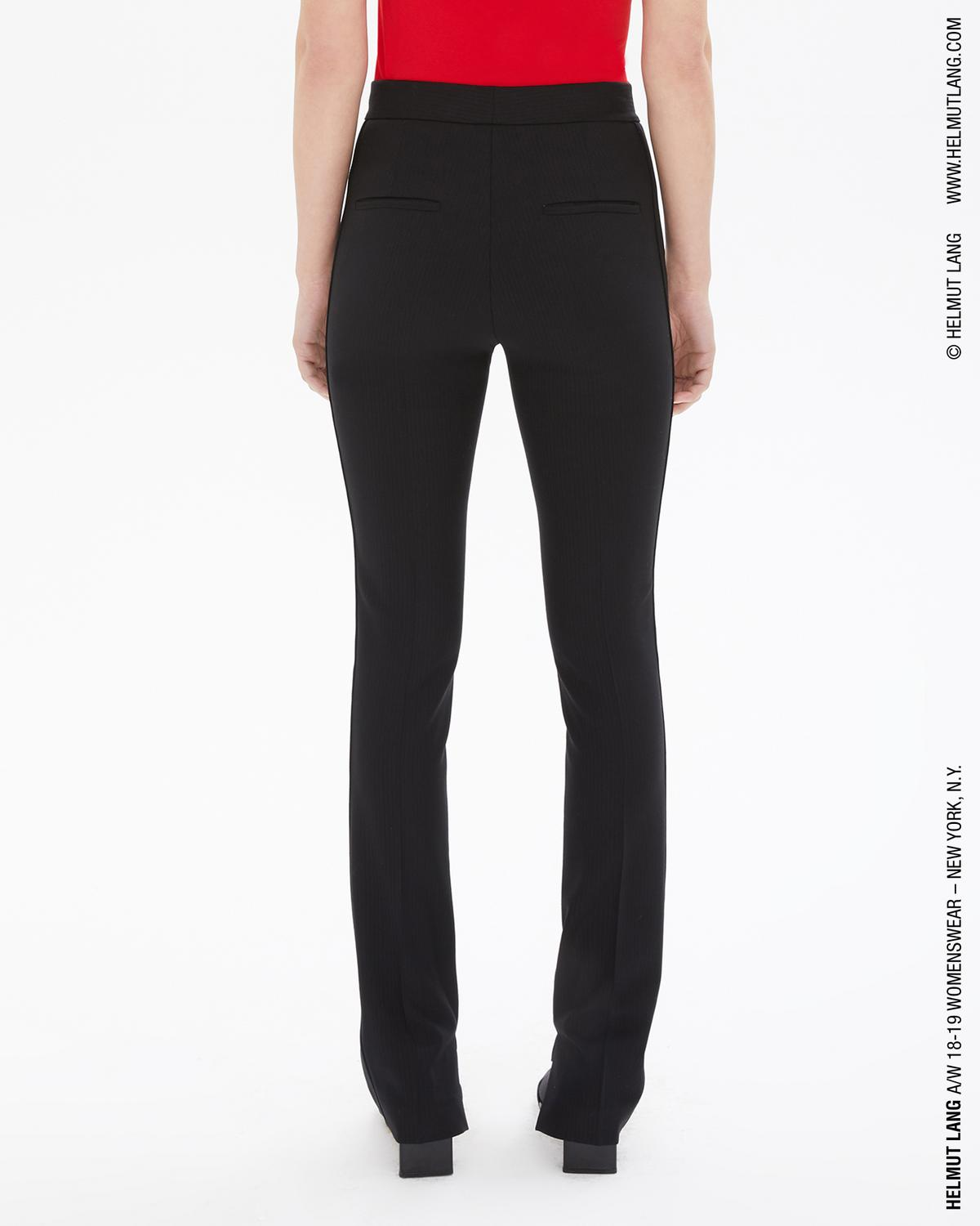 Stripe Wool Slim Pant
