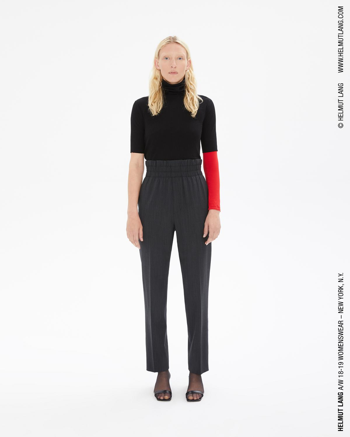 WOOL PULL ON TROUSERS