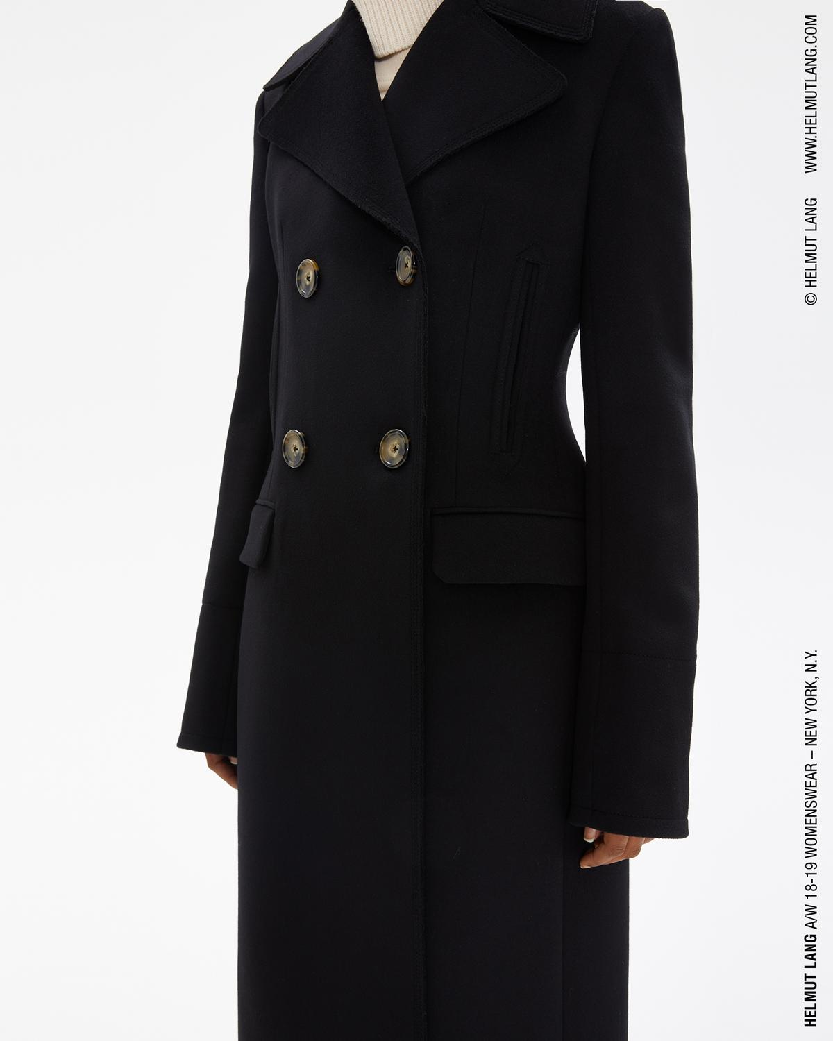 Tailored Melton Coat