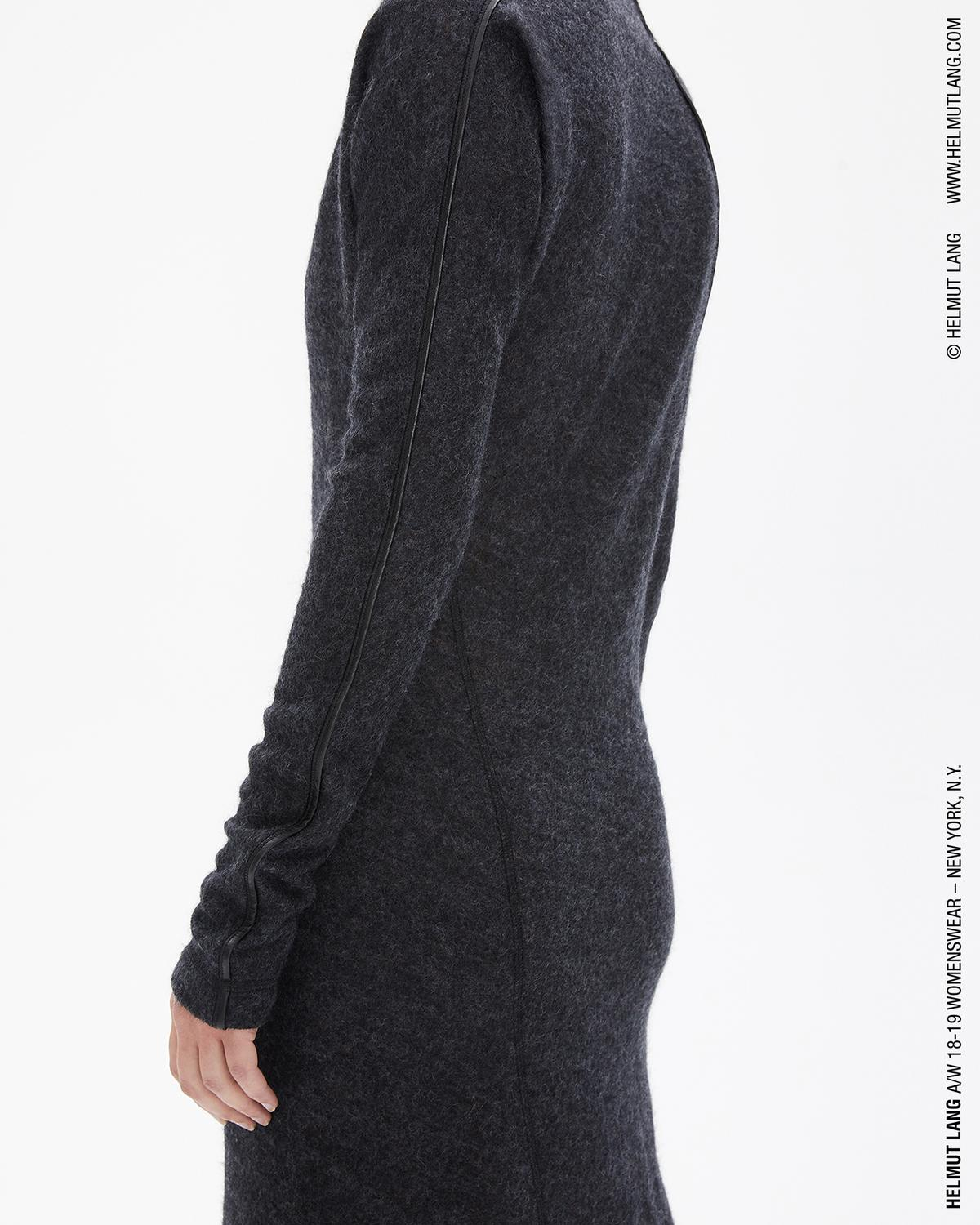 MOHAIR HIGH NECK DRESS