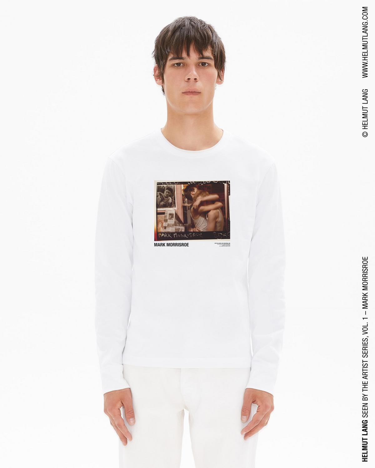 MARK MORRISROE JOHN LONG SLEEVE T-SHIRT