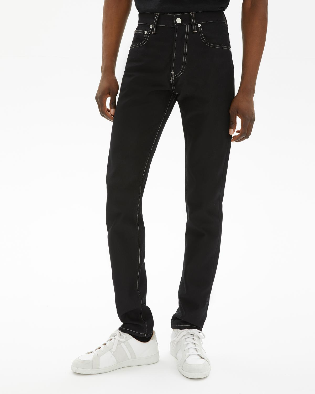 MASC HI STRAIGHT IN BLACK HI DEF TWILL