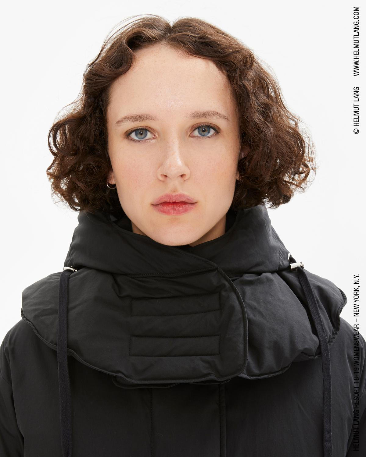 COTTON NYLON PUFFER JACKET