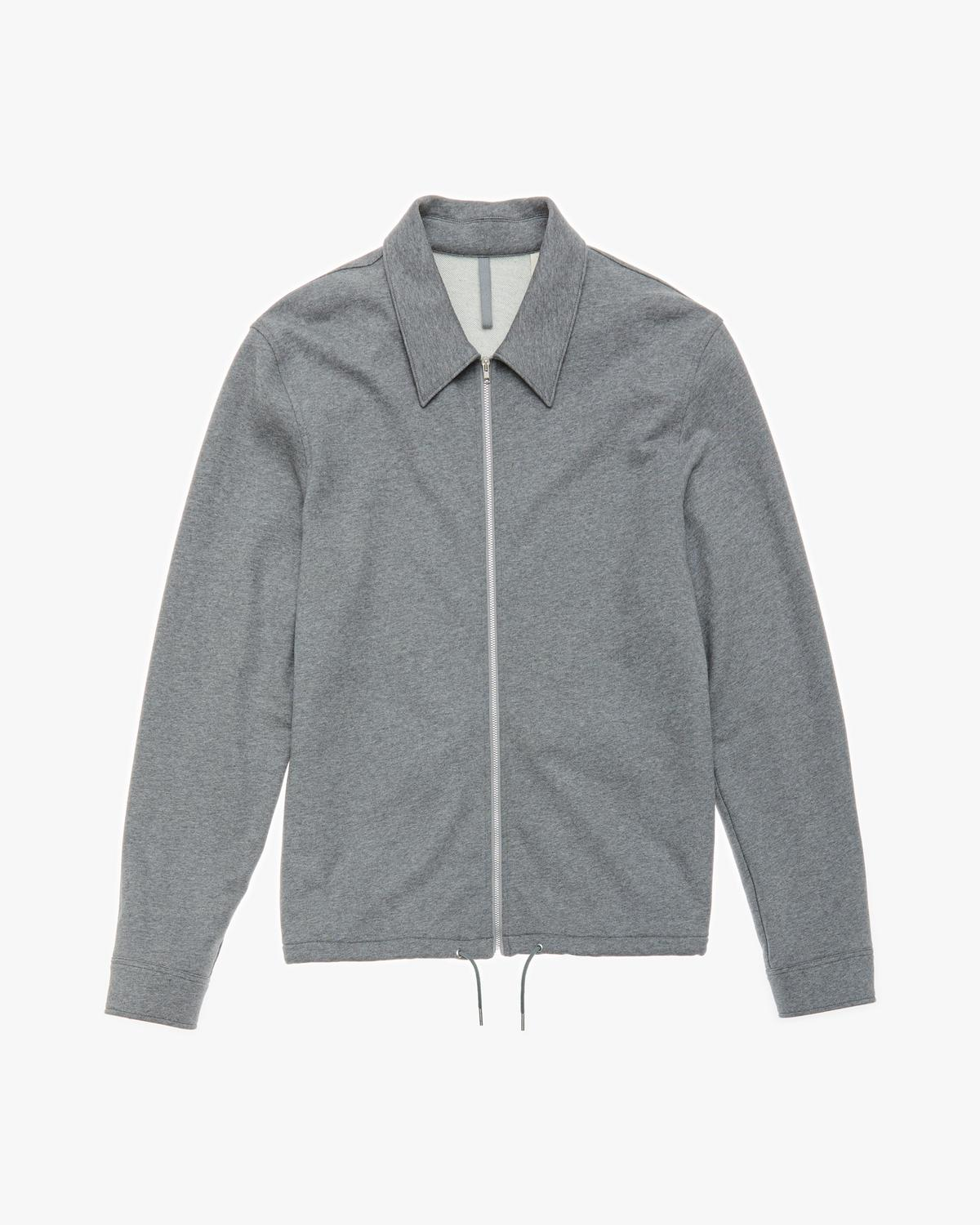 Fleece Zip Shirt Jacket