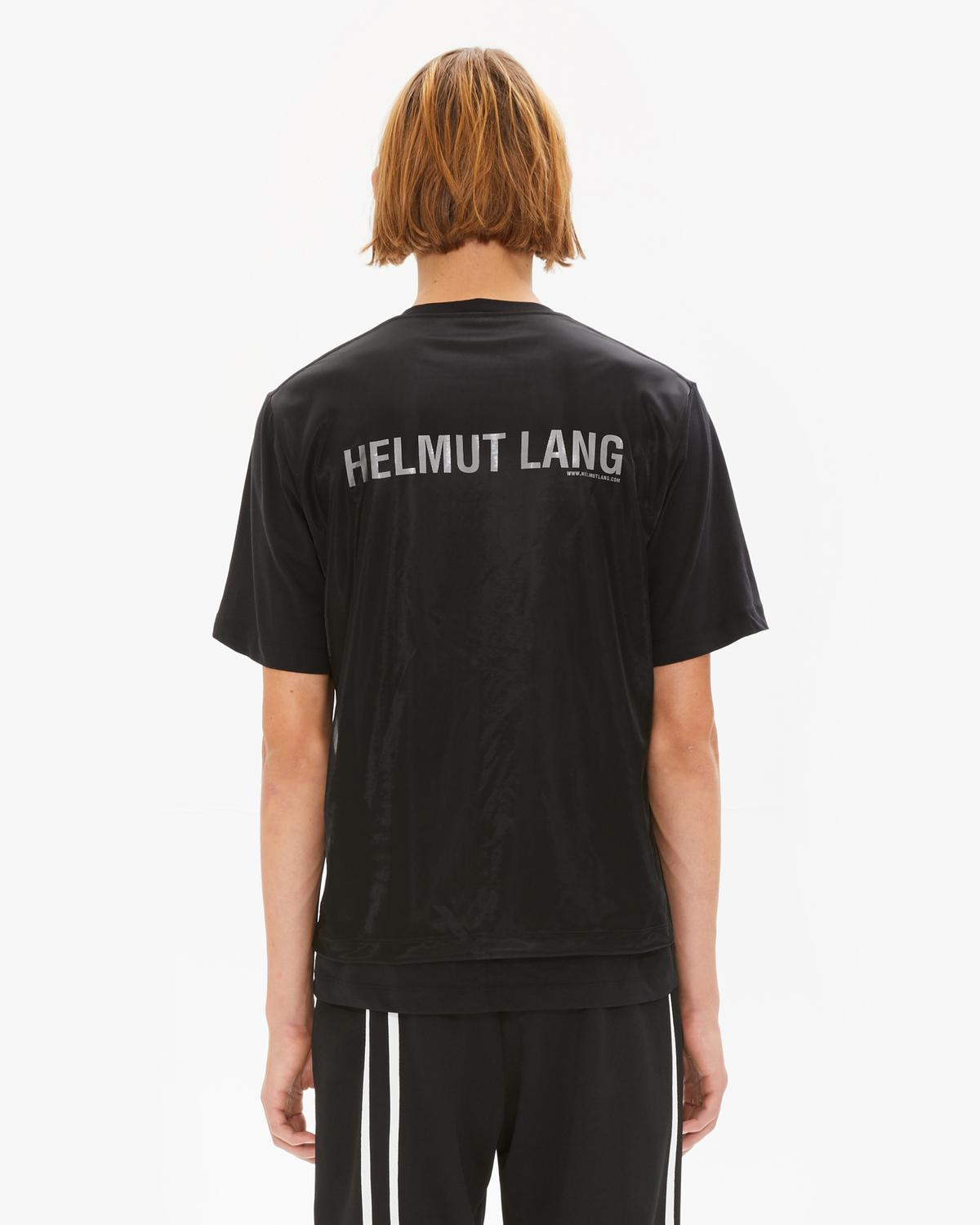 Overlay Logo Short Sleeve T-Shirt