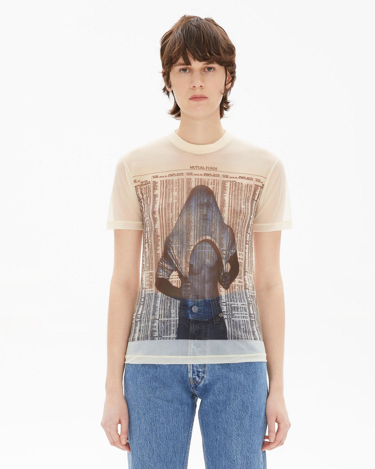 MASC LITTLE TEE WITH SLAVA PRINT