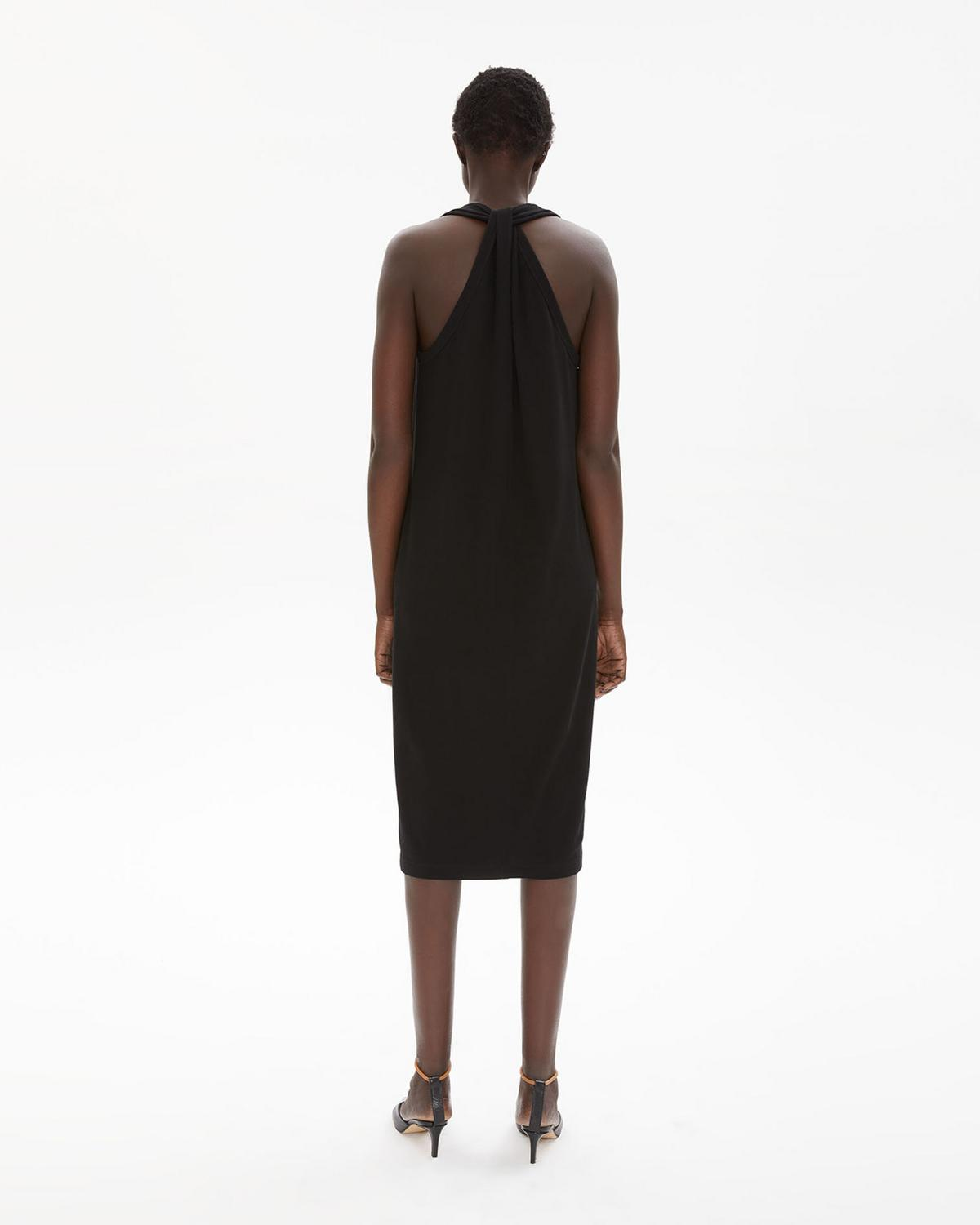 Halter Neck Jersey Dress