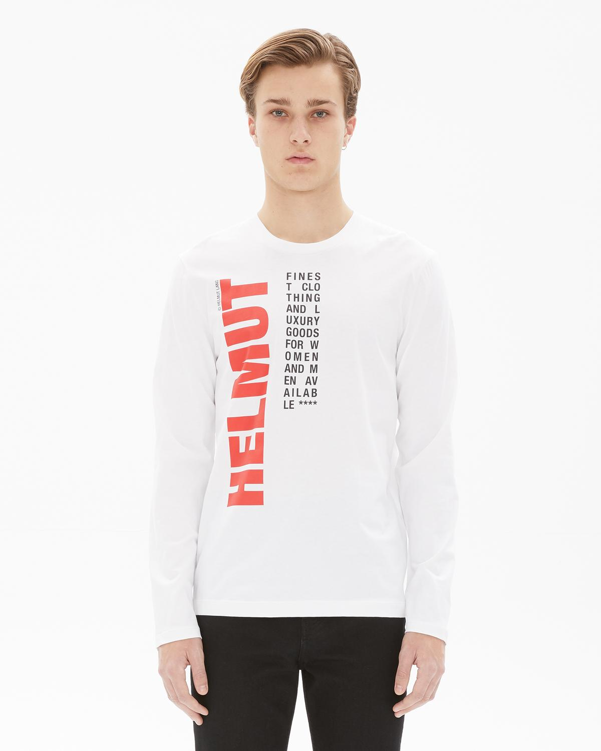 WORLDWIDE CREW LONG SLEEVE T-SHIRT
