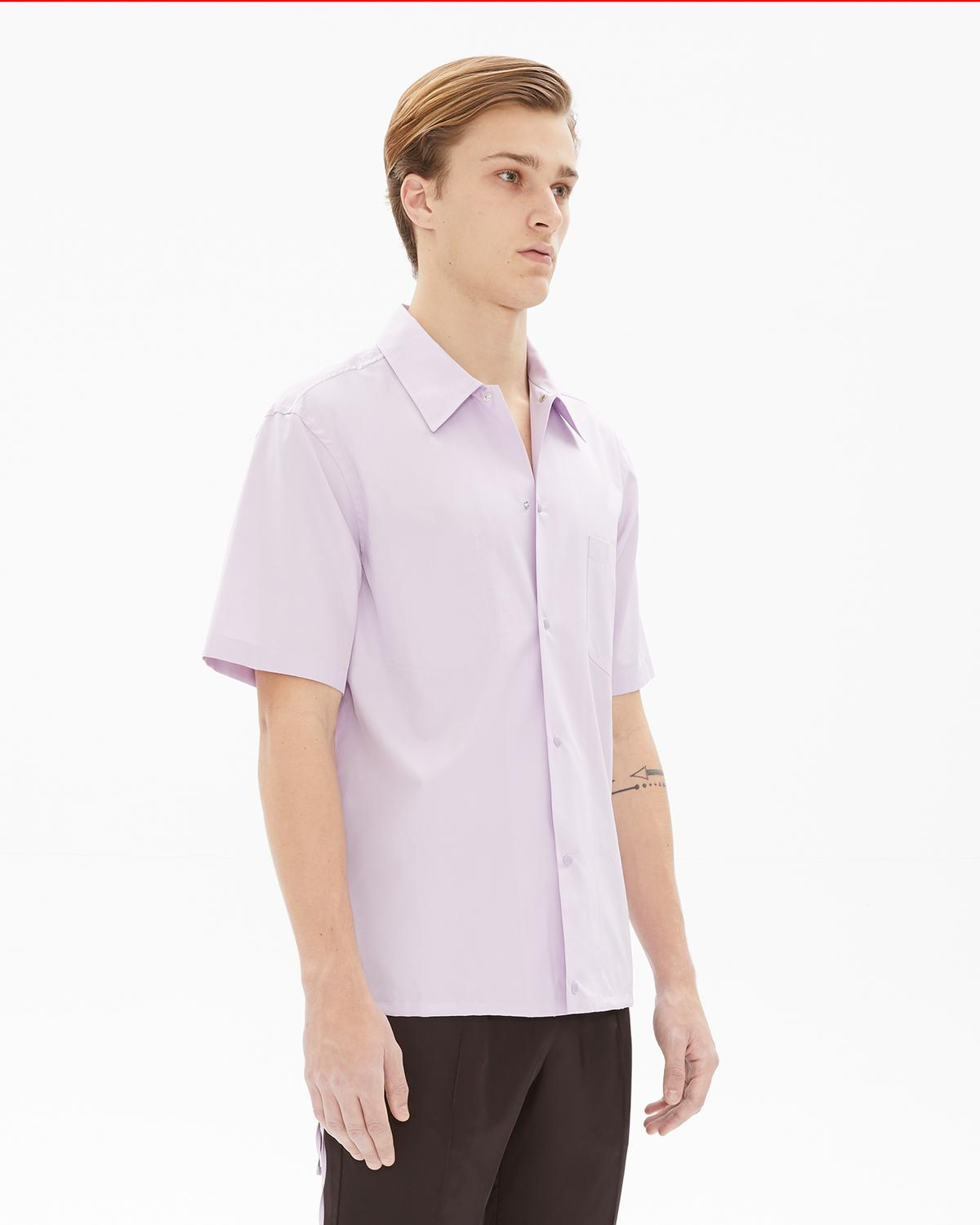 Tie Strap Short Sleeve Shirt
