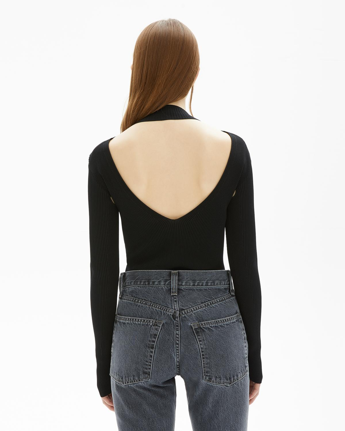 Viscose Stretch Openback Pullover