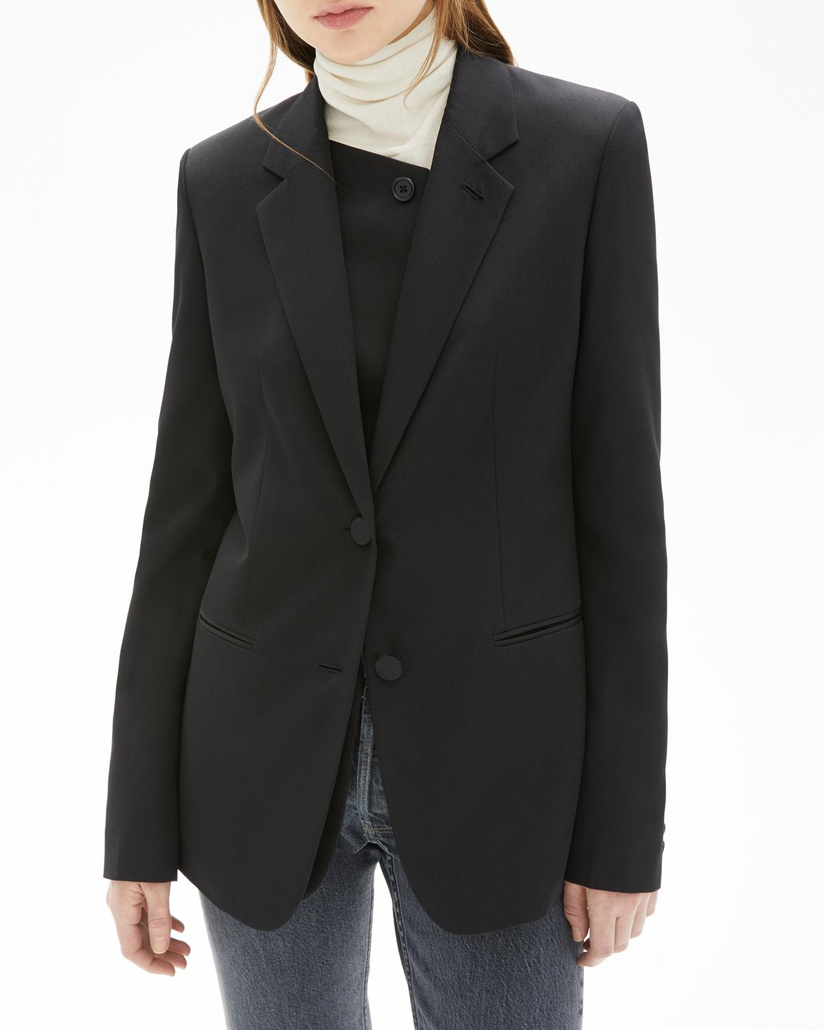 Double Lapel Blazer
