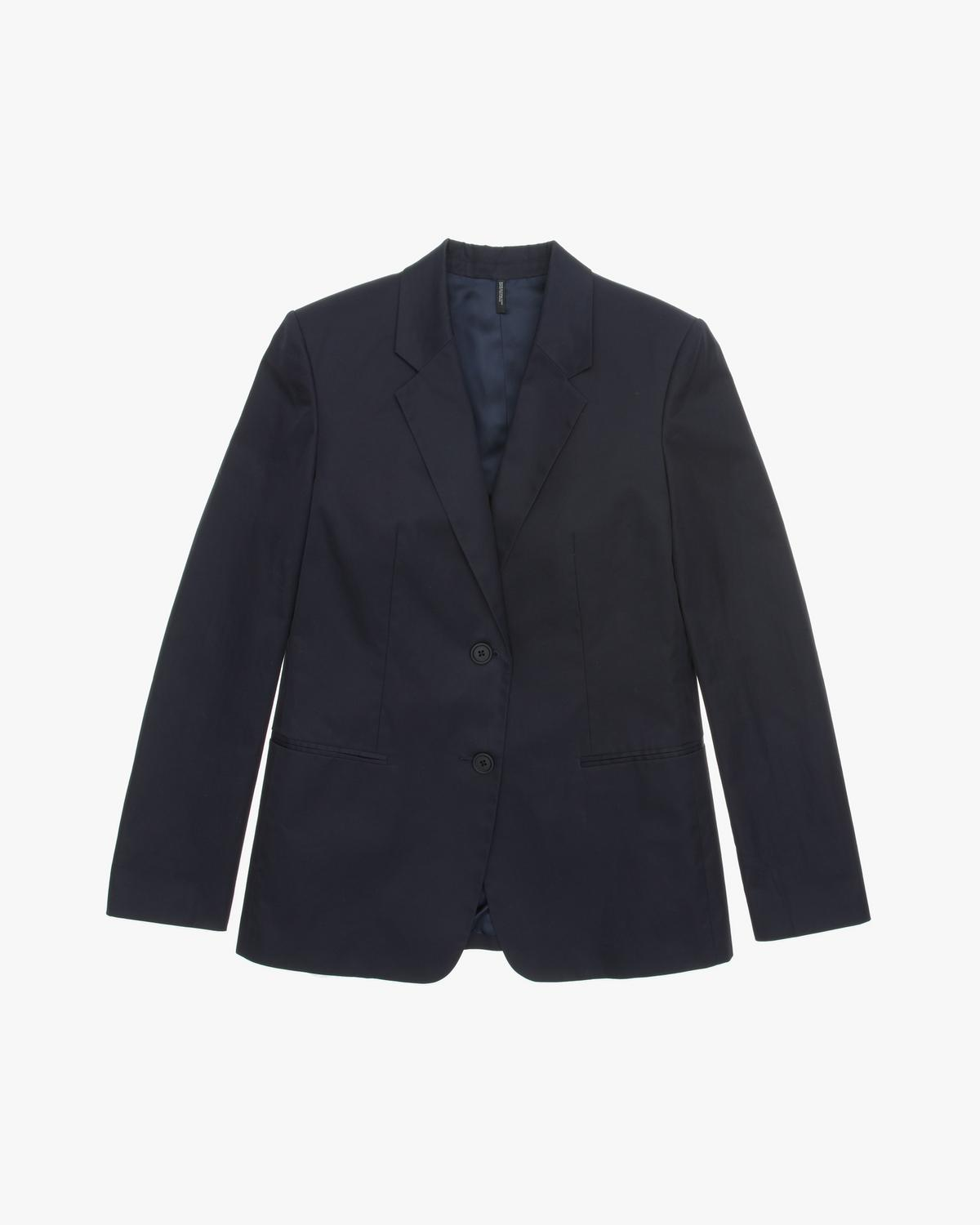 Resin Cotton Twill Blazer