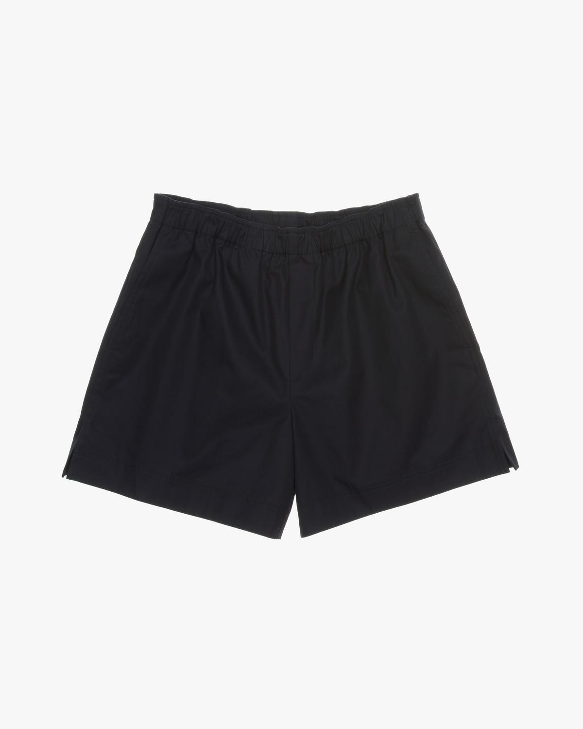 RESIN COTTON TWILL SHORT