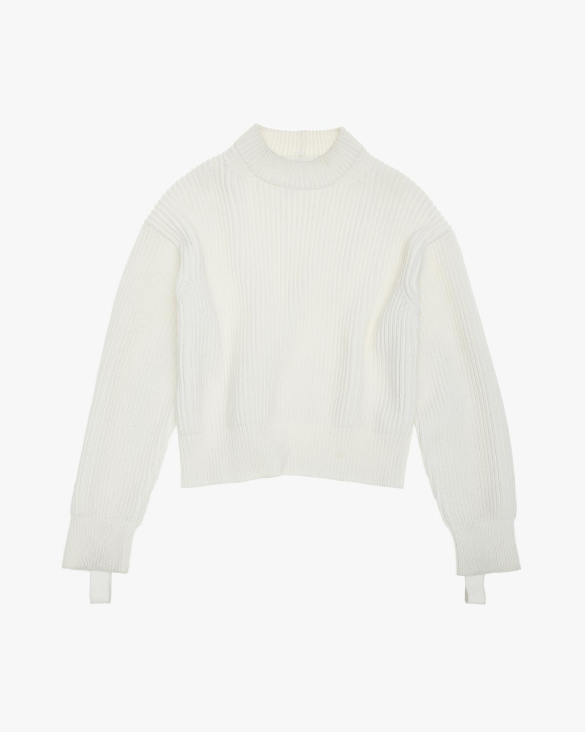 WOOL COTTON CREWNECK