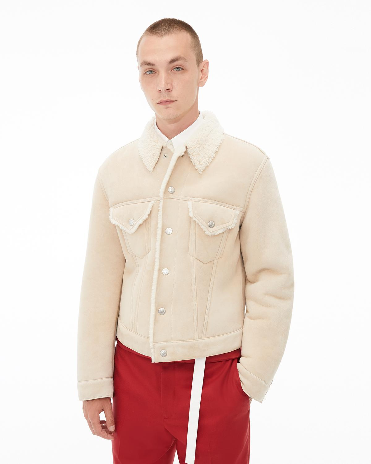 Masc Shearling Trucker Jacket