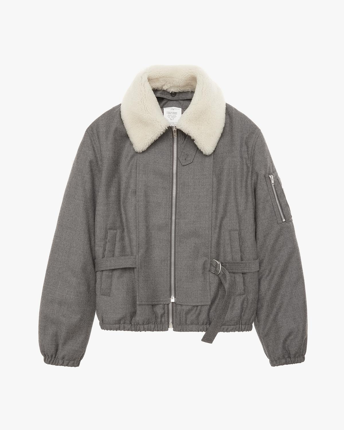 dc5c57491 Padded Flannel Bomber