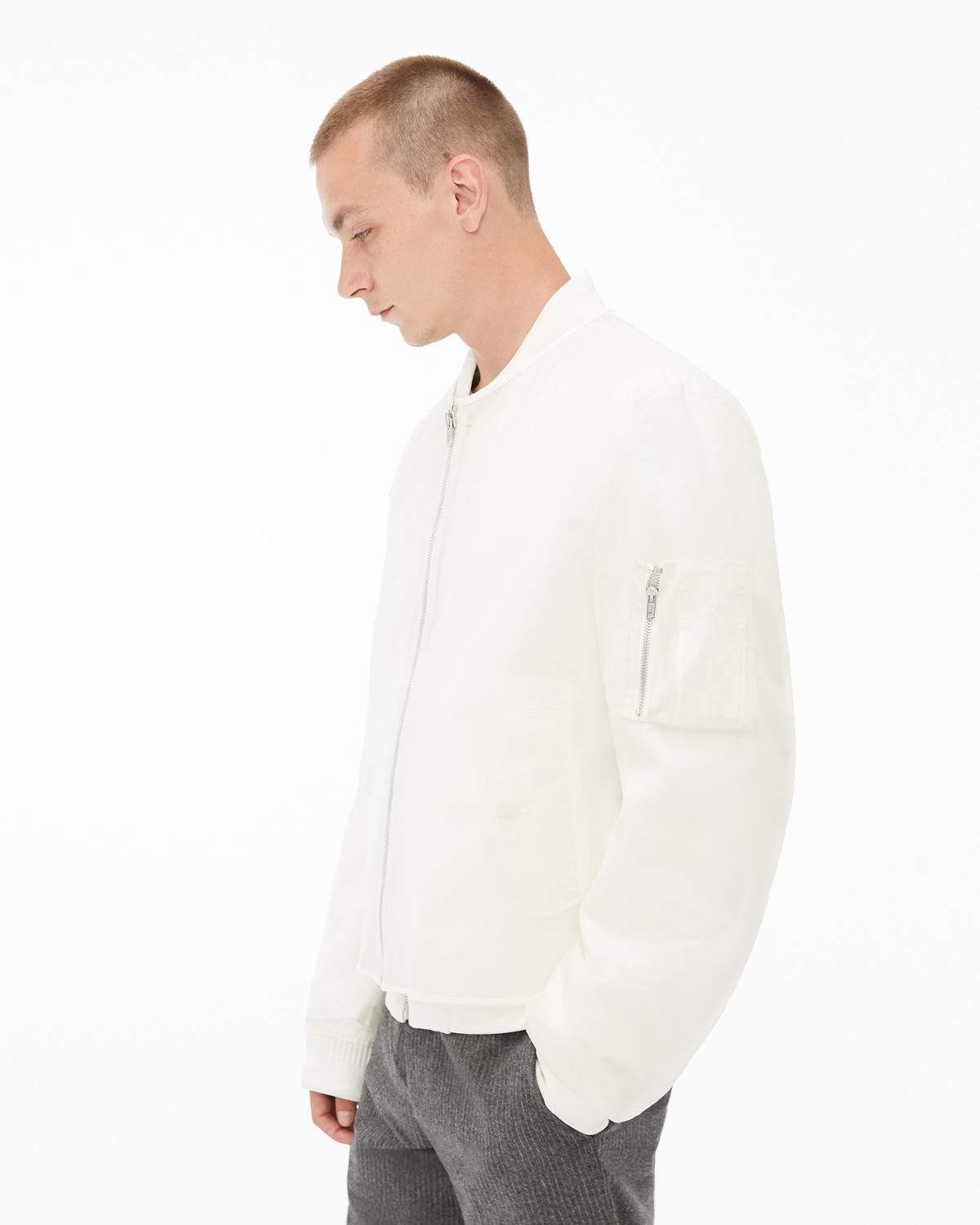 Transparent Bomber Jacket