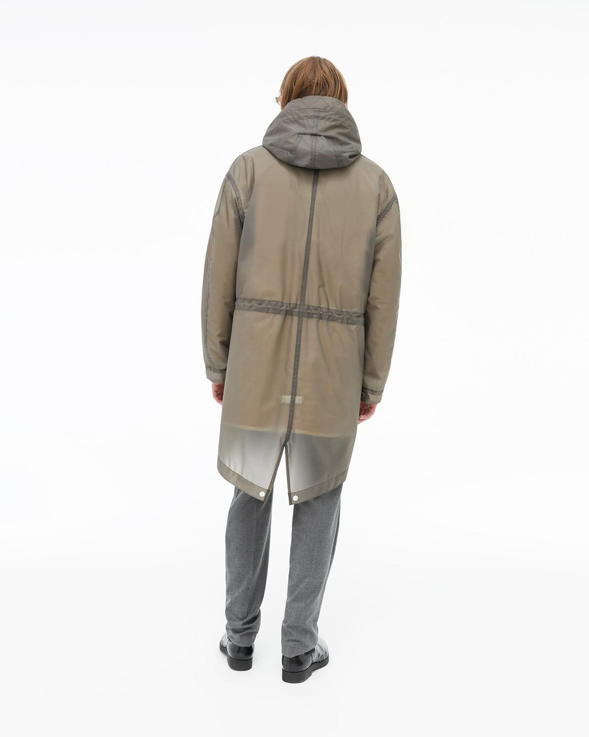 Transparent Parka