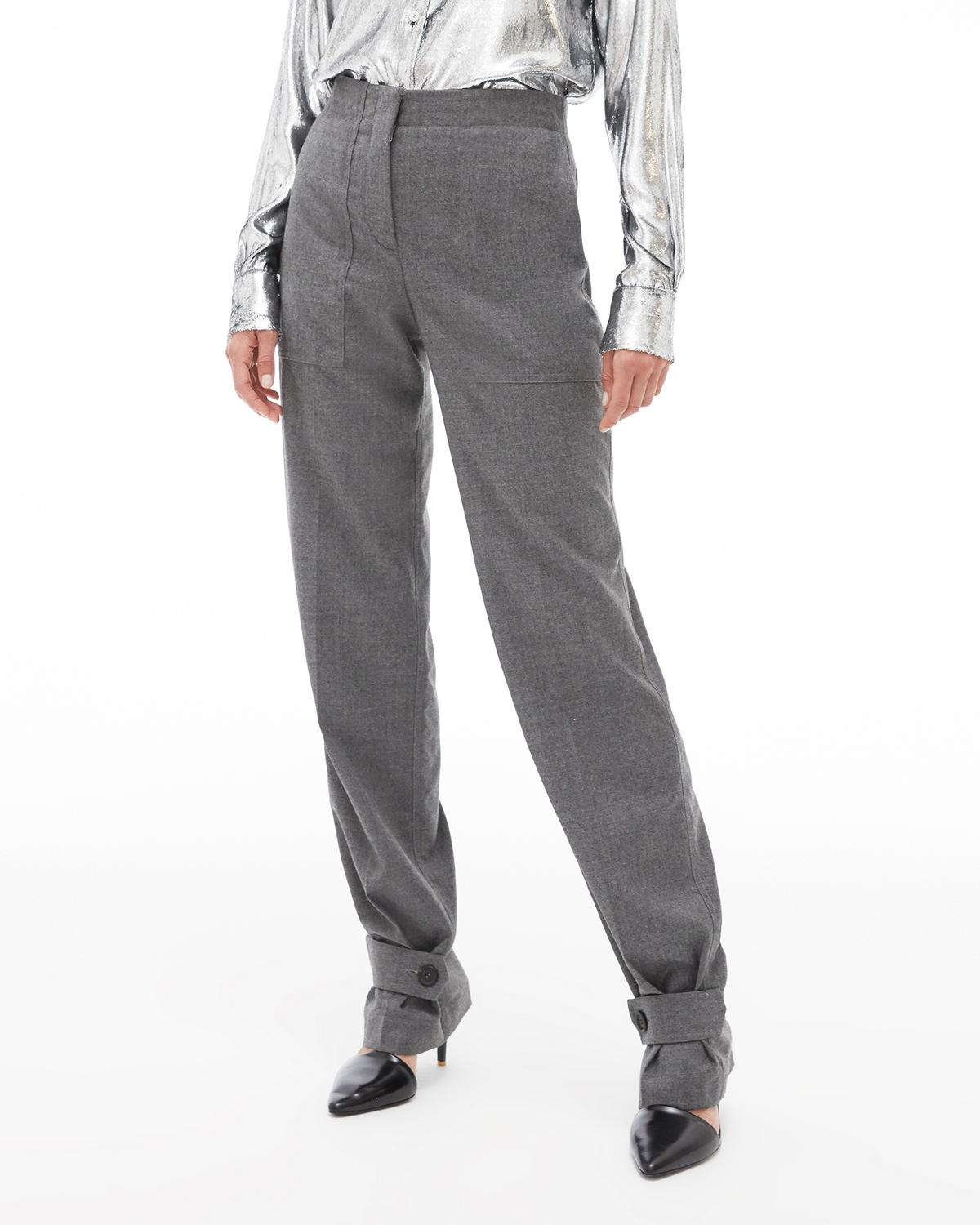 Flannel Military Pant