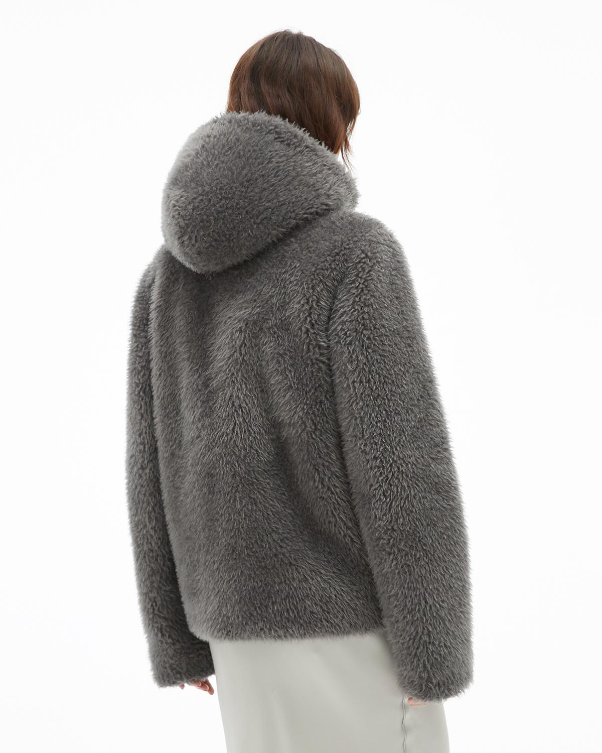 Shaggy Fur Bomber