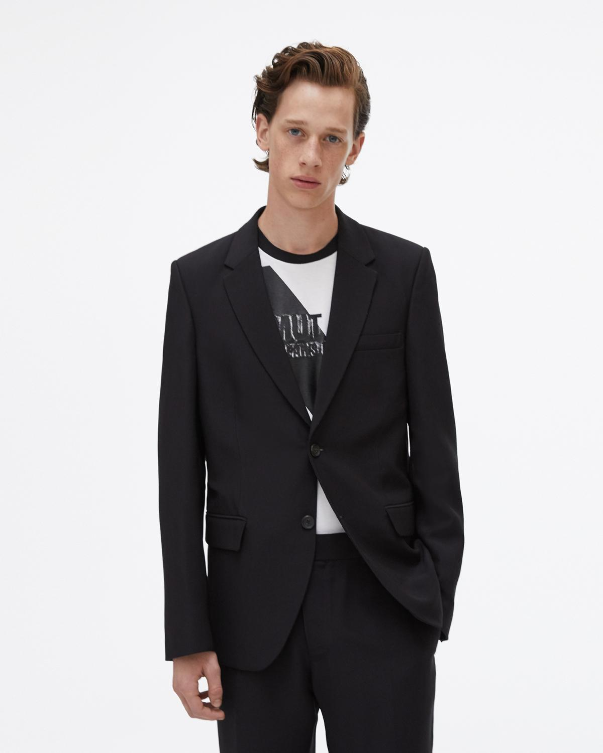 Viscose Two-Button Suit Jacket