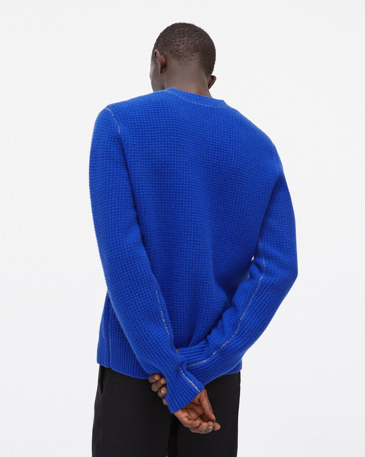 Felted Crewneck Sweater