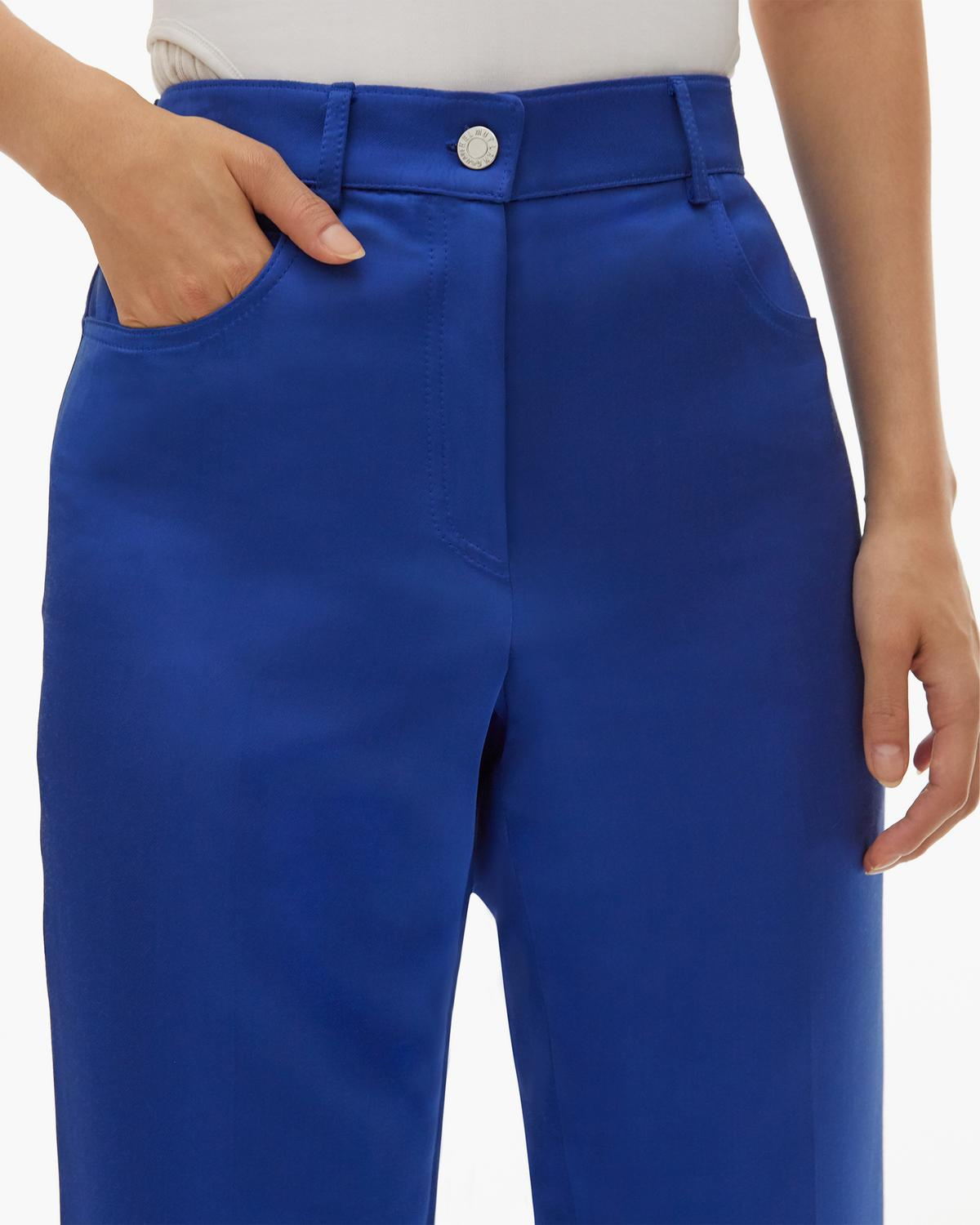 Heavy Satin Jean Pant