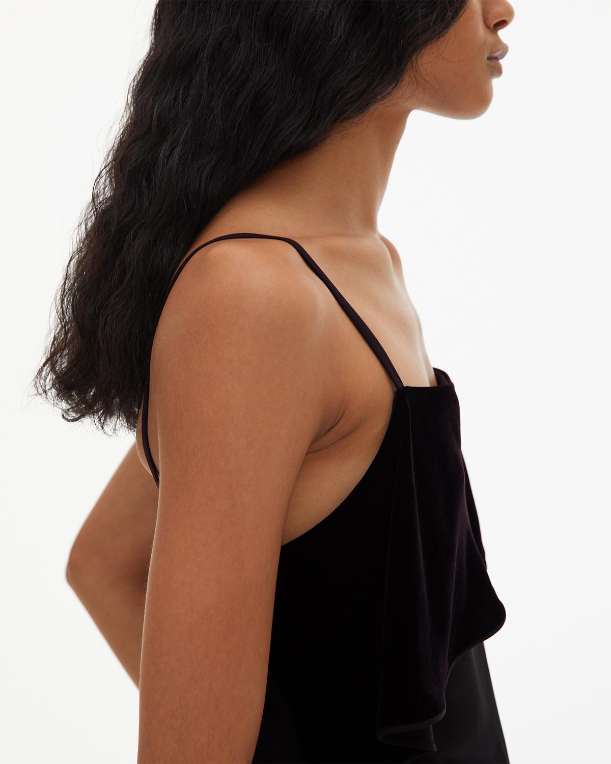 Velvet Layer Slip Top