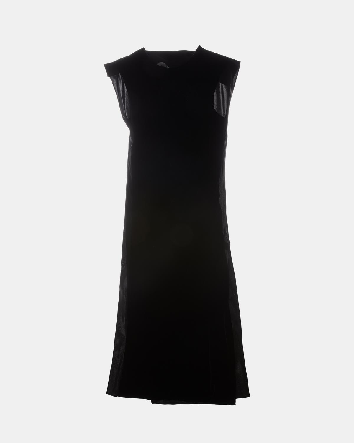 Front Velvet Shift Dress
