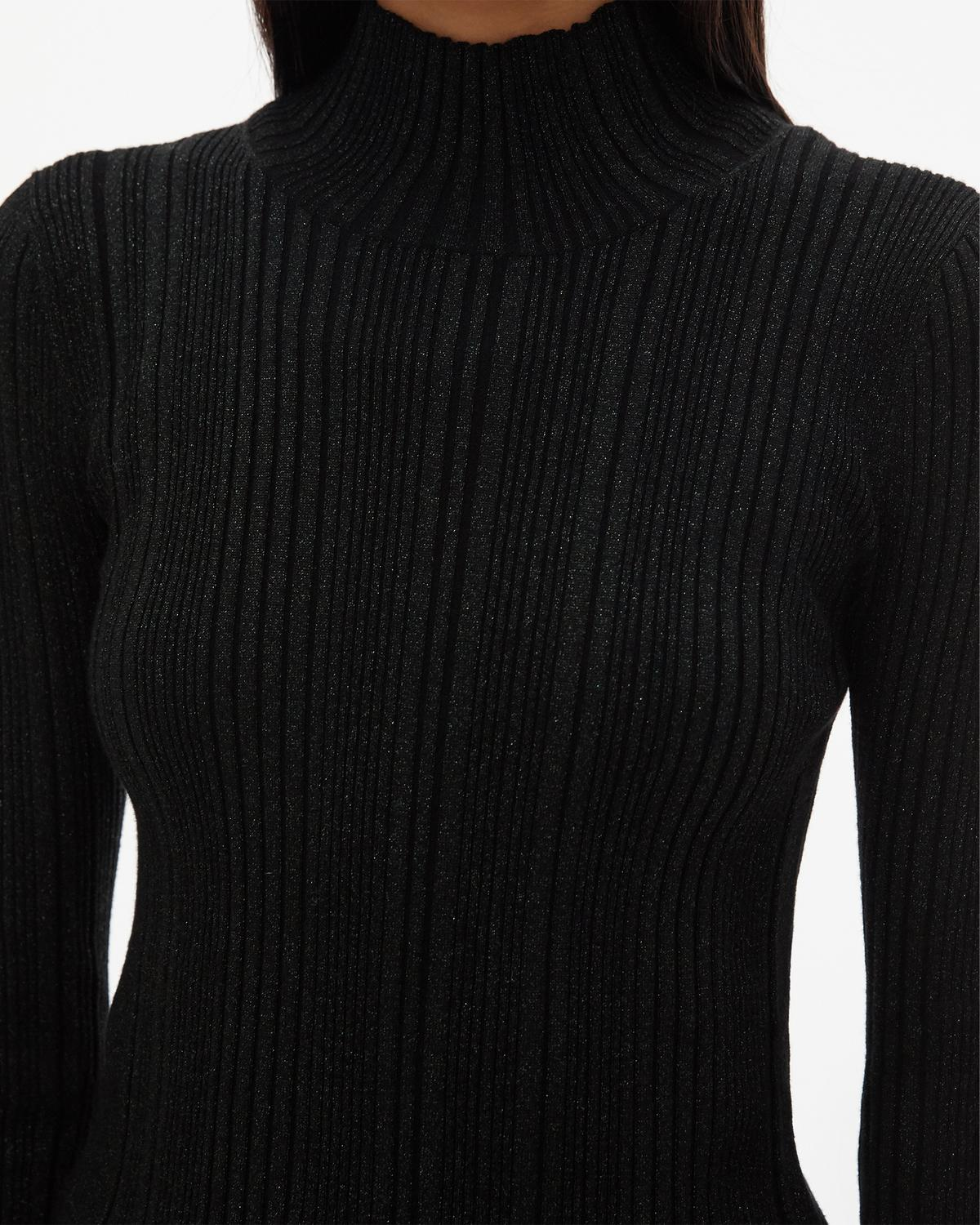 Fine Rib Turtleneck