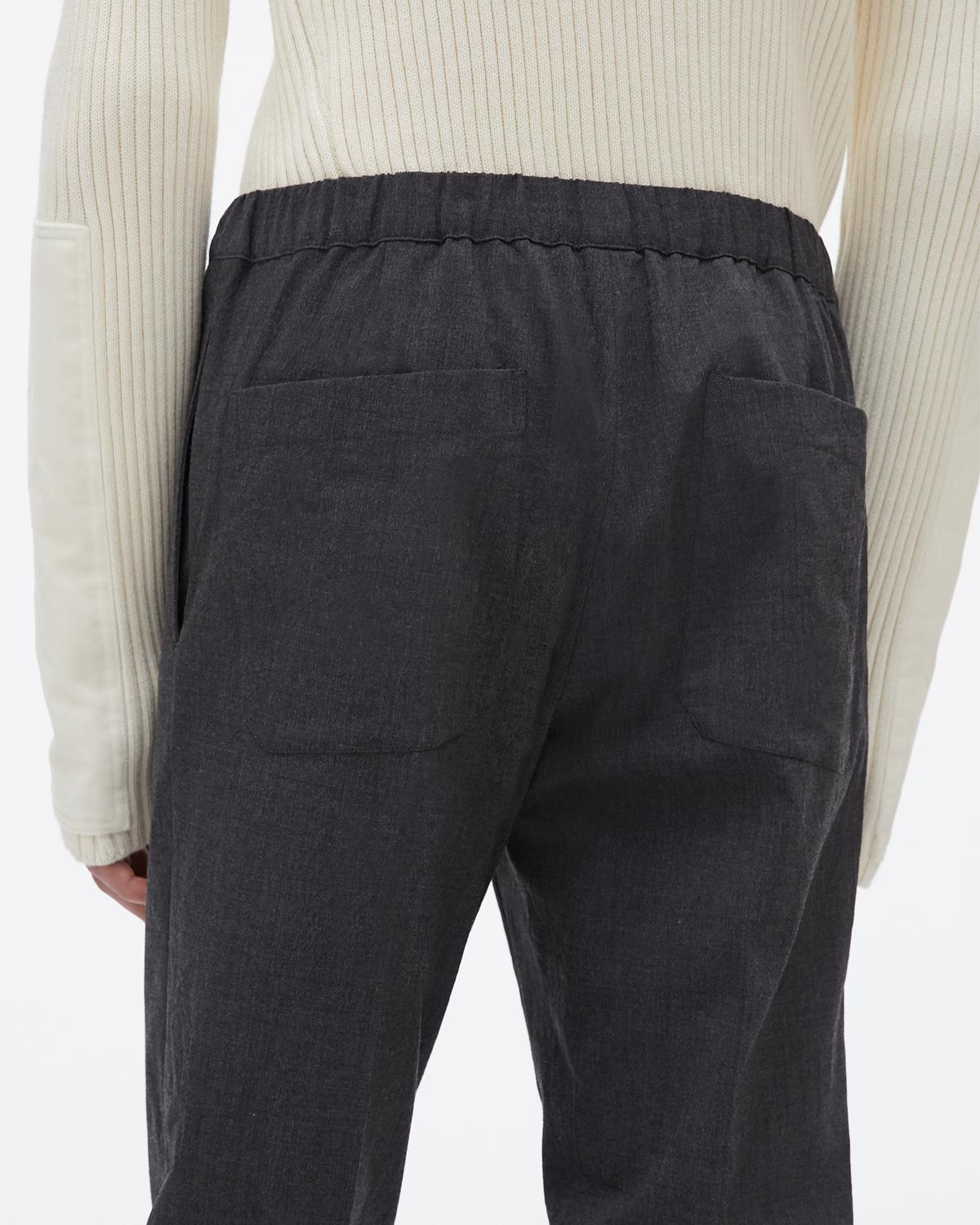 Crushed Pull On Pant