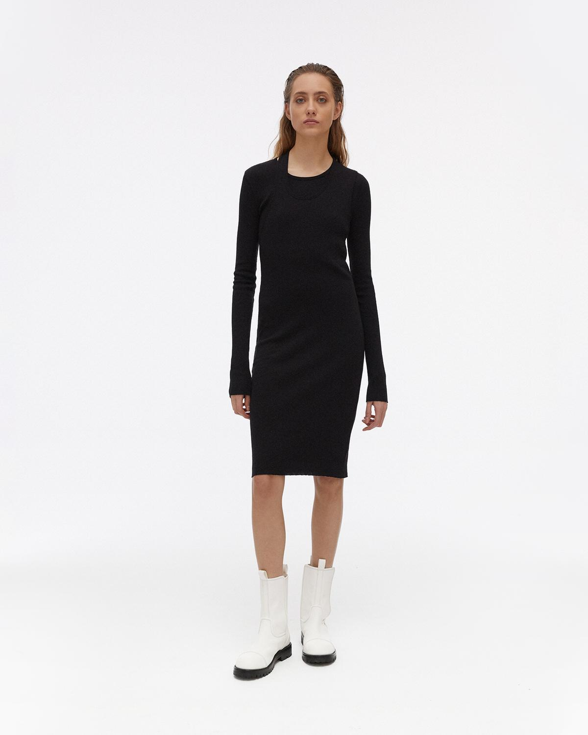 Double Longsleeve Dress