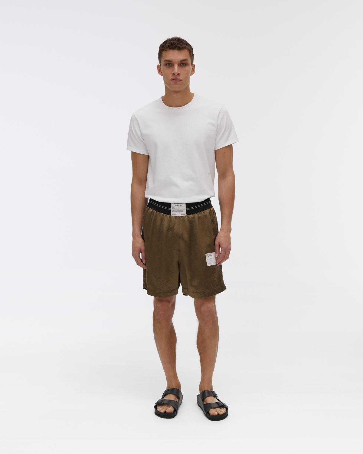 Patch Twill Boxer Shorts