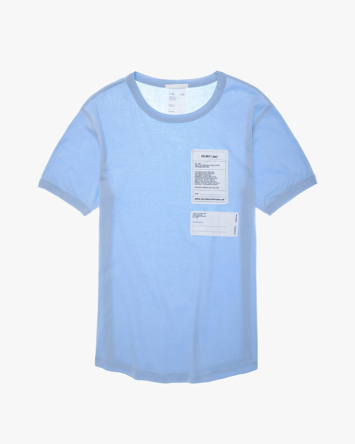 Cotton Tee with Patches