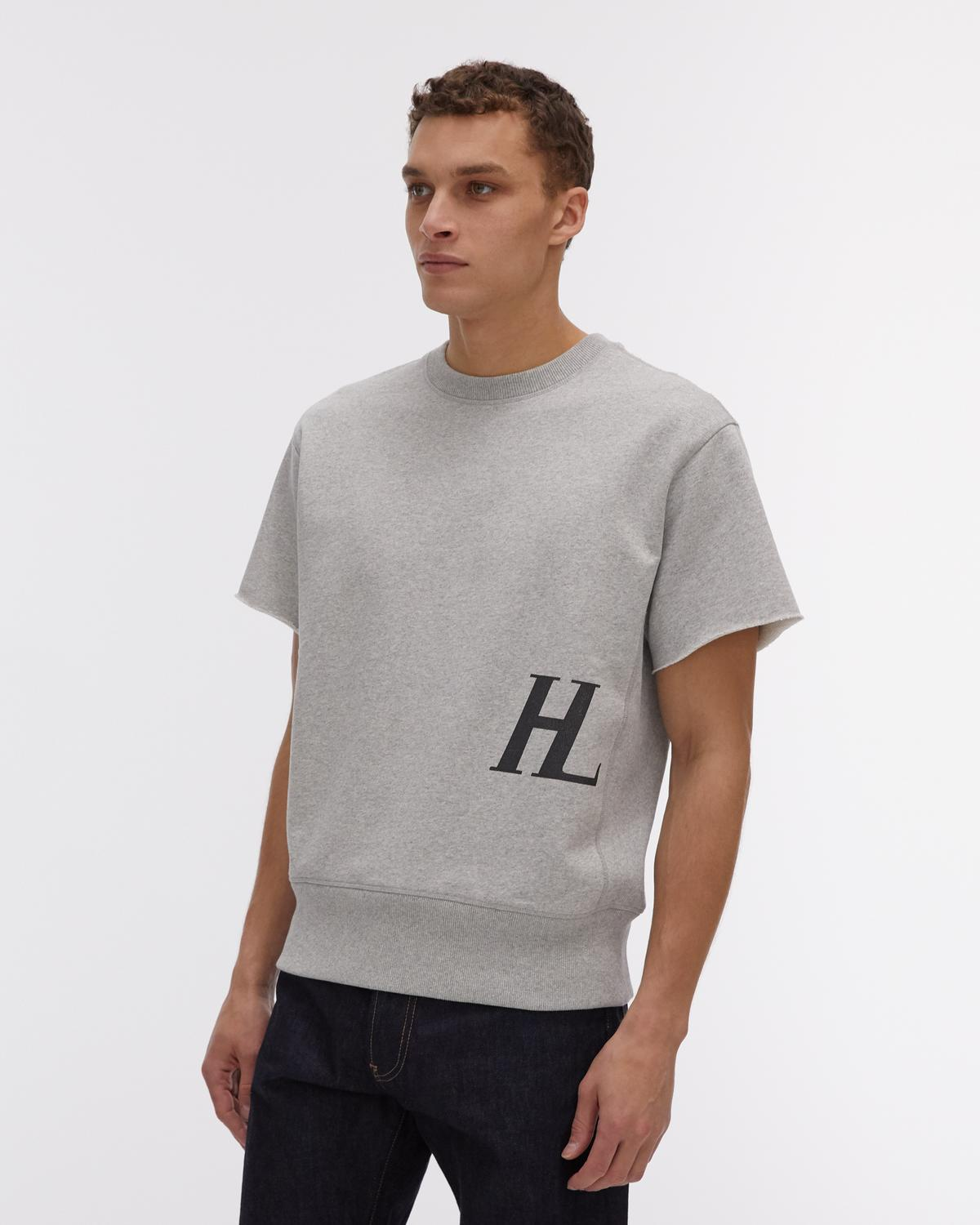 Masc Crew Monogram Short Sleeve Sweatshirt
