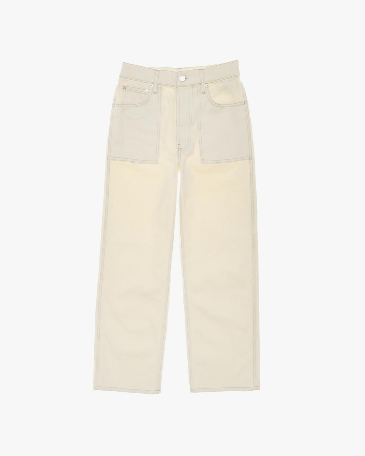 Utility Patch Pocket Jeans