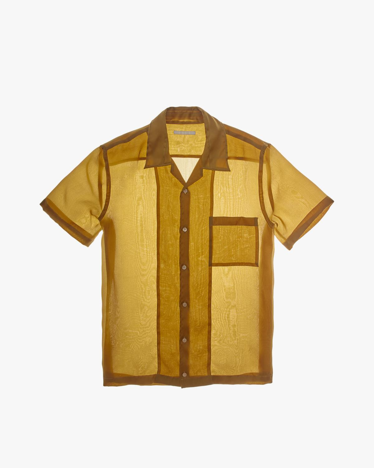 Satin Organza Shirt
